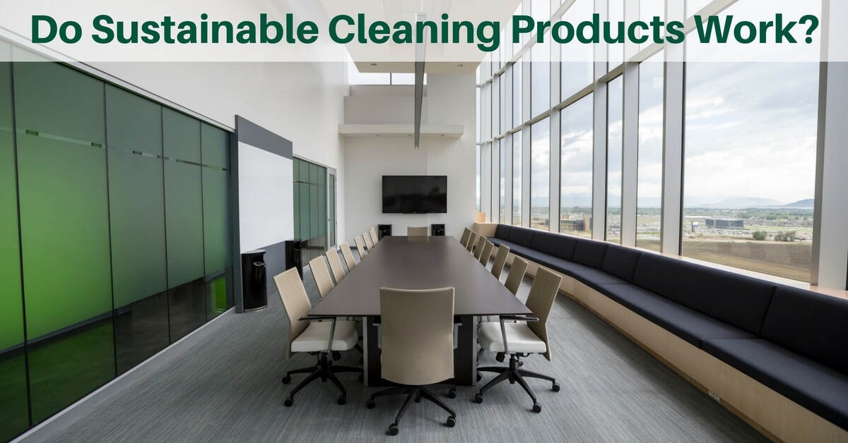 Do Sustainable Cleaning Products Really Work?